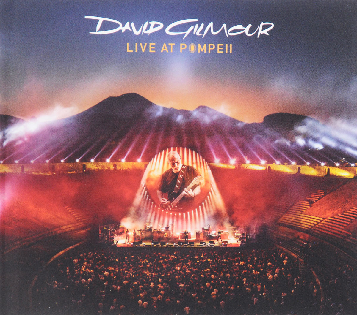 Дэвид Гилмор David Gilmour. Live At Pompeii (2 CD) david gilmour – live at pompeii blu ray