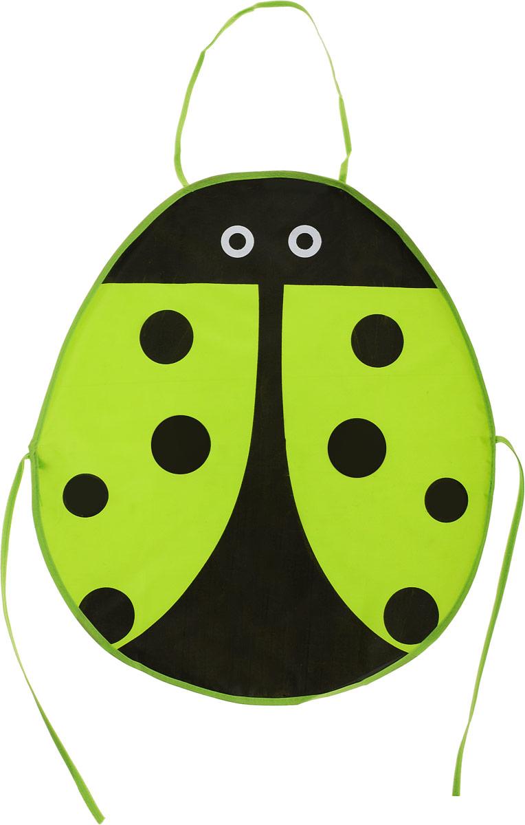 Школа талантов Фартук детский Божья коровка цвет зеленый -  Аксессуары для труда