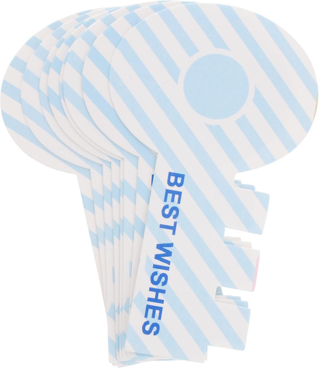 Карамба Закладки Ключ цвет голубой 8 шт4028_голубой, косая линияБумажные закладки вырезаны в форме ключика.Уважаемые клиенты! Обращаем ваше внимание на цветовой ассортимент товара. Поставка осуществляется в зависимости от наличия на складе.