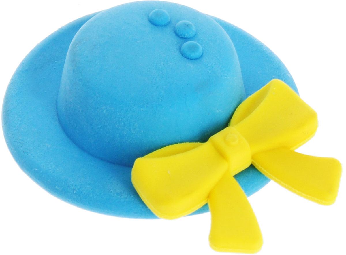 Карамба Ластик Шляпа цвет синий4021_синийЛастик выполнен в виде кокетливой шляпки с бантом.