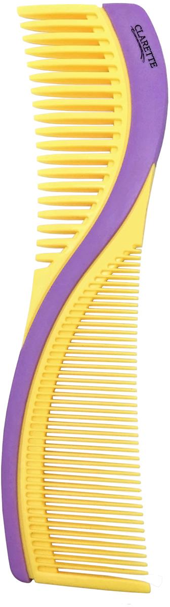 Clarette Расческа для волос двухсторонняя. CPB 723CPB 723Clarette представляет коллекцию расчесок для укладки и моделировании волос. Невероятно легкие и удобные в применении, они идеально подходят не только для домашнего использования, но и для профессионального. Для ежедневного применения.