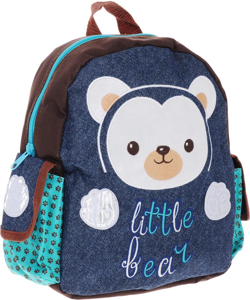 Феникс+ Рюкзак дошкольный Маленький мишка -  Ранцы и рюкзаки