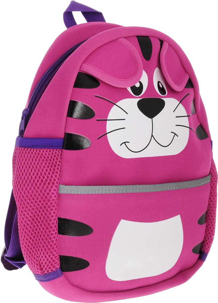 Феникс+ Рюкзак дошкольный Розовый тигр -  Ранцы и рюкзаки