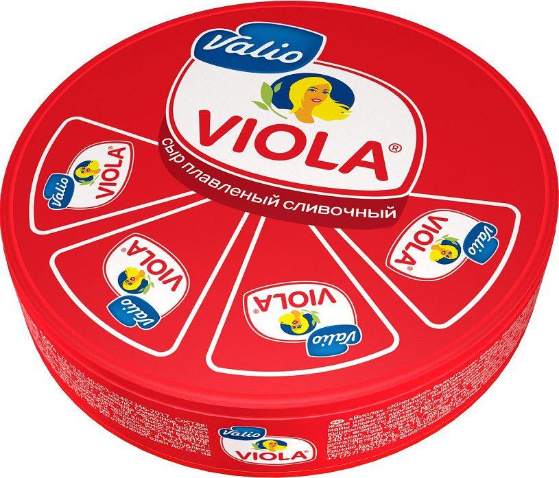 Valio Viola Сыр Сливочный, плавленый, 130 г valio viola сыр сливочный плавленый в ломтиках 140 г