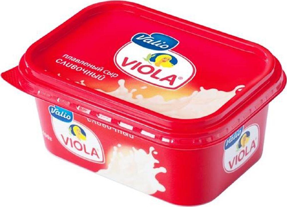 Valio Viola Сыр Сливочный, плавленый, 400 г903001Плавленый сыр Viola, знакомый уже трем поколениям россиян, обладает сливочным вкусом, мягкой текстурой и непревзойденным качеством.Плавленый сыр Viola полностью соответствует финским и российским стандартам качества и производится под непосредственным контролем Valio.Плавленый сыр Viola не только идеален для бутербродов, но и прекрасно подходит для приготовления соусов и супов.