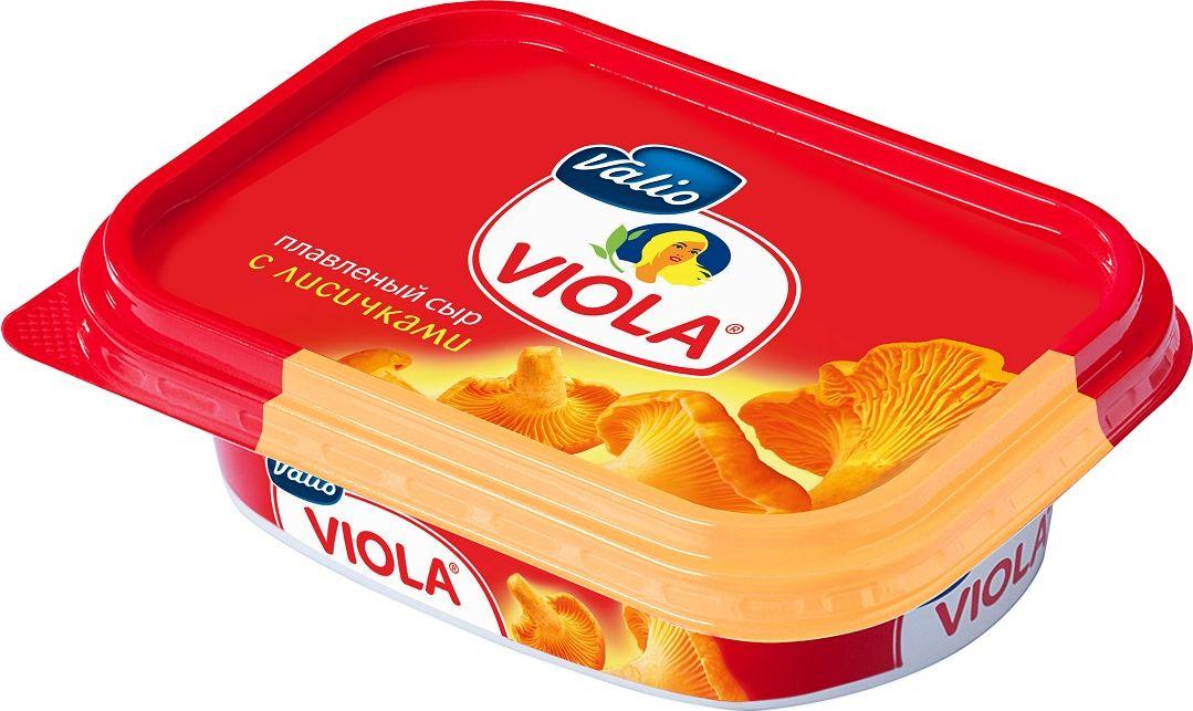 Valio Viola Сыр с лисичками, плавленый, 200 г valio viola сыр плавленый сливочный 200 г
