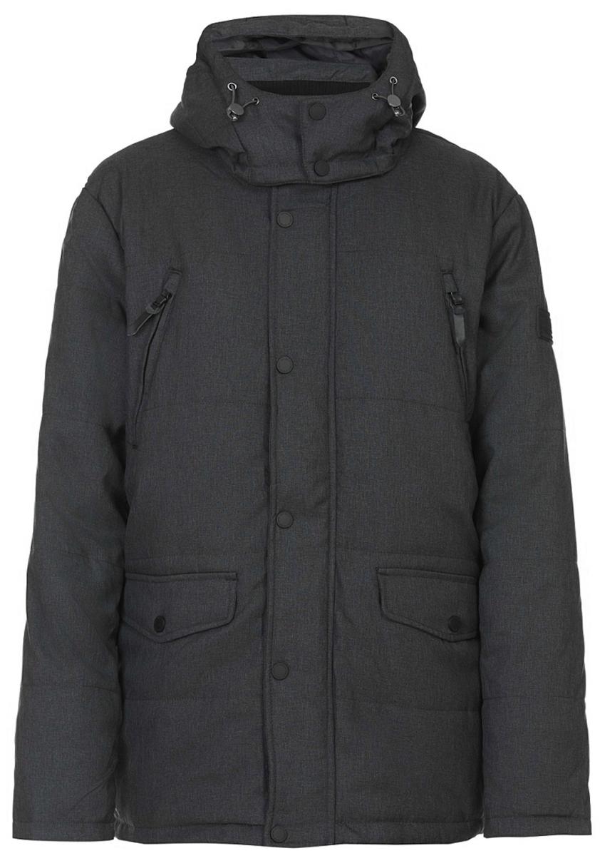 Куртка мужская Baon, цвет: серый. B537503_Pale Asphalt. Размер XL (52) куртка мужская baon цвет коричневый b537509 wood размер xl 52