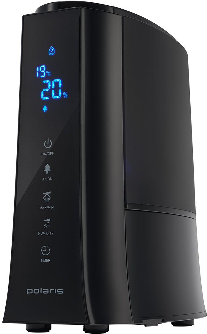 Polaris PUH 3005Di, Black ультразвуковой увлажнитель воздуха004709Это многофункциональный ультразвуковой увлажнитель, отличающийся высоким уровнем эффективности. Вместительный резервуар для воды (5 литров) позволяет осуществлять непрерывную работу прибора до 35 часа. При недостаточном уровне воды увлажнитель автоматически отключается. Встроенный ионизатор заметно освежает воздух в комнате, делая его чистым. Керамический фильтр смягчает воду, удаляя соли жесткости, поэтому вы можете наполнять увлажнитель из водопроводного крана.