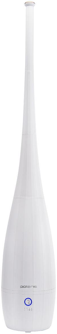 Polaris PUH 7140, White увлажнитель воздуха008381Оригинальный дизайнНапольный увлажнитель воздуха PUH 7140 от компании POLARIS представляет собой дизайнерскую башню, которая благодаря своей универсальности станет гармоничной частью любого помещения, невзирая на интерьерные решения. Максимальная высота башни составляет 101 см, при этом ее разборная конструкция позволяет регулировать высоту устройства.3 режима парообразованияПроизводитель предусмотрел наличие трех скоростей парообразования: I – низкая, II – средняя и III – высокая. Управление устройством осуществляется посредством всего одной кнопки.Ночной режимВ этом режиме отключается индикатор работы, а также для комфортного сна снижается уровень интенсивности парообразования. При этом уровень шума, издаваемого увлажнителем, не превышает 39 Дб.Качественная фильтрацияОсобенность модели PUH 7140 заключается в том, что она оснащена карбоновым фильтром очистки воздуха, а также керамическим средством фильтрации воды.Надежная защитаУвлажнитель автоматически выключится при снятии емкости с базы, а также в том случае, если в баке будет недостаточно воды, о чем известит специальный индикатор и звуковой сигнал.Оптимальные характеристикиОбъем бака для воды, имеющего нано-серебряное покрытие, рассчитан на 4 л, а мощность POLARIS PUH 7140 составляет всего 25 Вт. При расходе до 300 мл воды в час представленное устройство способно увлажнить воздух в помещении площадью до 40 м2. Увлажнитель может непрерывно работать без дозаправки на протяжении 25 часов.