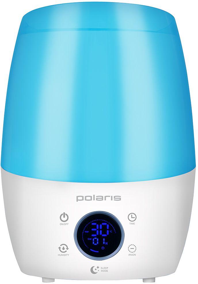 Polaris PUH 7040Di, Blue увлажнитель воздуха008260_синийУвлажнитель Polaris PUH 7040Di современный и компактный, с его помощью можно легко создать комфортные условия даже в большой жилой комнате. Создать комфортный уровень влажности, с помощью аромамасла, которое добавляется в бак вместе с водой, и придает приятный аромат. Таймер, автоматическое отключение при отсутствии воды, небольшой размер и стильный корпус - всё это делает аппарат максимально функциональным.Технические характеристики Увлажнитель Polaris PUH 7040Di: - Объем 3,50 л- Время непрерывной работы До 25 часов- Электронный гигрометр- Встроенный ионизатор - Таймер автоматического отключения - Автоматическое отключение при отсутствии воды- Количество режимов подачи пара 4- Многофункциональный дисплей Есть- Мощность 25 Вт- Ночной режим Есть- Расход воды 350 мл/ч