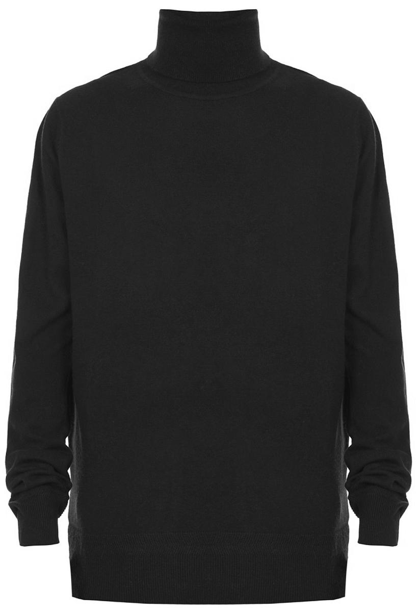 Водолазка мужская Baon, цвет: черный. B727501_Black. Размер XXL (54)B727501_BlackВодолазка от Baon выполнена из тонкого, но теплого трикотажа. Волокна натуральной шерсти в составе материала позаботятся о вашем комфорте. Это изделие отлично впишется в любой гардероб и будет хорошо смотреться как с джинсами, так и с брючным костюмом.