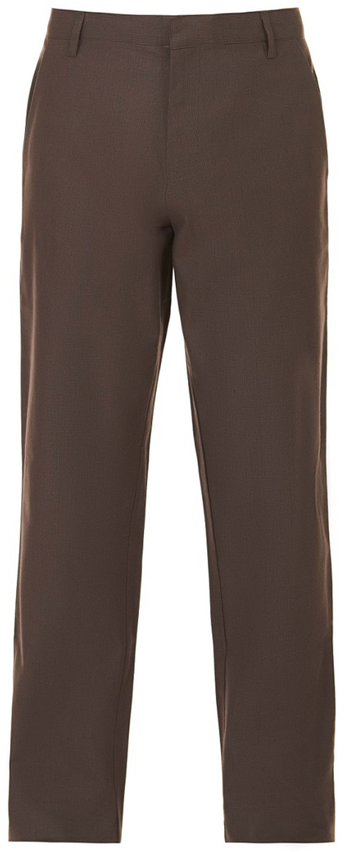 Брюки мужские Baon, цвет: коричневый. B797501_Dark Brown. Размер S (46)B797501_Dark BrownЭлегантные брюки от Baon помогут вам создать стильный и гармоничный образ. Модель выполнена из плотного хлопкового полотна с узором в клетку. По бокам расположены карманы, задние карманы имеют застежки-пуговицы. Само изделие застегивается на молнию, потайные крючки и пуговицу. Пояс брюк дополнен шлевками для ремня.