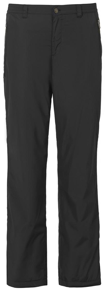 Брюки утепленные мужские Baon, цвет: черный. B797512_Black. Размер XXL (54)B797512_Black