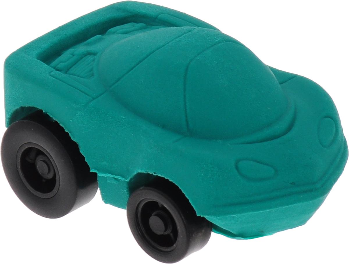 Brunnen Ластик Машинка цвет зеленый29983 BLN/BCDЛастик фигурный Машинка размером 3 см х 4 см. Инерционная машинка, которая не только стирает ошибки, но и ездит!