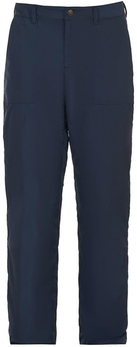 Фото Брюки утепленные мужские Baon, цвет: синий. B797516_Deep Navy. Размер M (48)