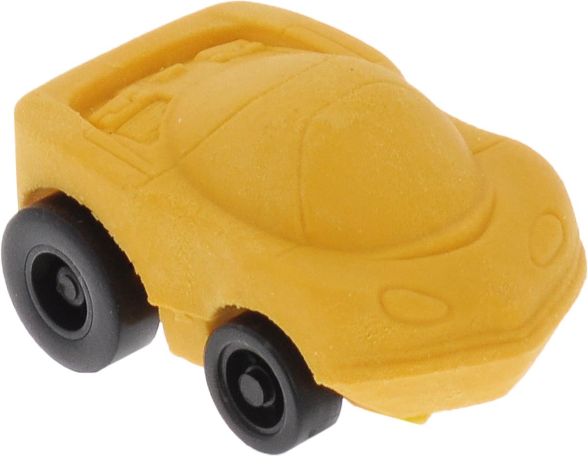 Brunnen Ластик Машинка цвет желтый29983 BLN/BCDЛастик фигурный Машинка размером 3 см х 4 см. Инерционная машинка, которая не только стирает ошибки, но и ездит!