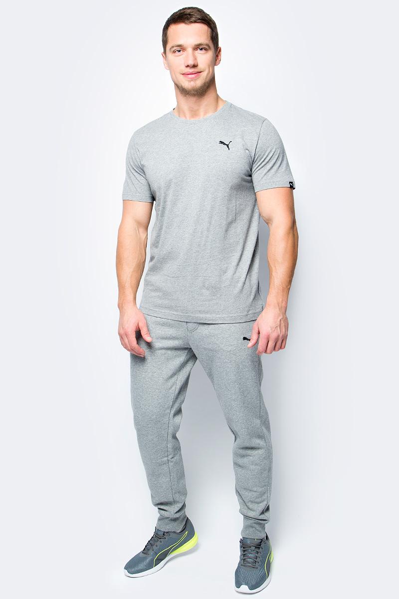 Футболка мужская Puma ESS Tee, цвет: серый. 83823803. Размер XXL (52/54)