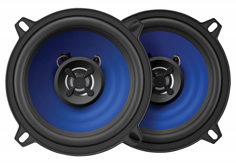 Digma DCA-K502, Black колонки автомобильные479904Коаксиальная 2-полосная акустическая система Digma DCA-K502 изготовлена из надежных и долговечных материалов, а также обладает качественным сбалансированным звучанием. Данная модель прекрасно подходит для замены штатных колонок в вашем автомобиле.Установочная глубина: 48 мм.