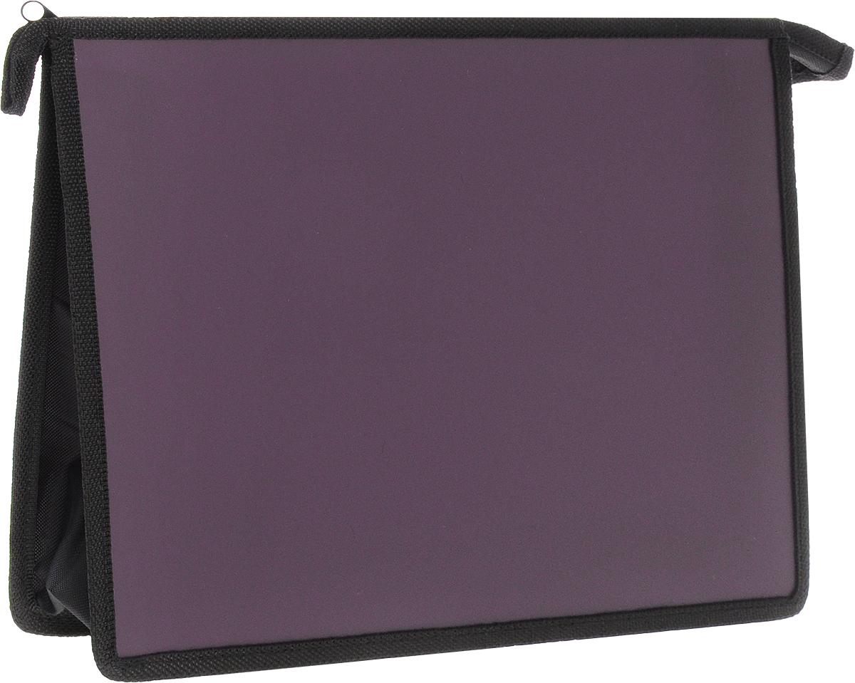 Феникс+ Папка для тетрадей А4 цвет бордо41698Папка предназначена для хранения и переноски тетрадей формата А4.Размер: 330x233 мм.Материал: пластик.Застежка: на молнии.Цвет: бордовый.
