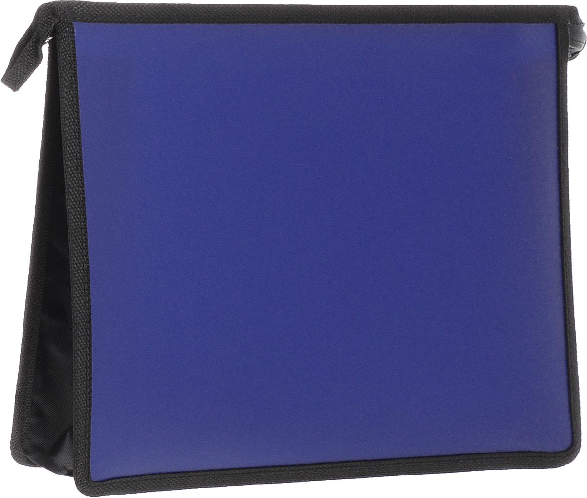 Феникс+ Папка для тетрадей А4 цвет синий -  Папки