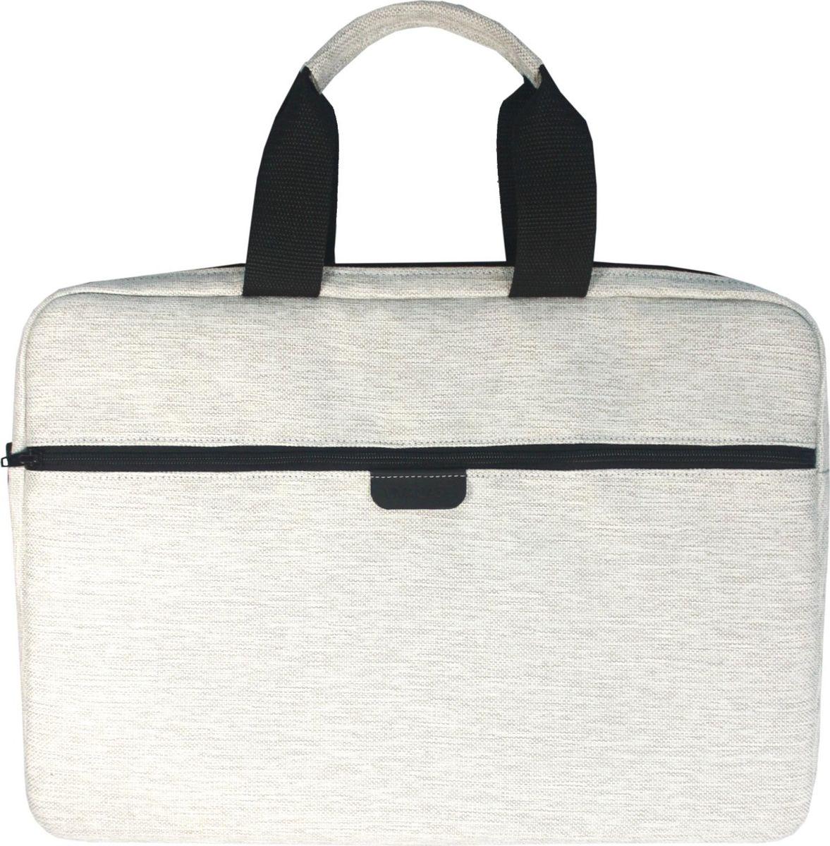 Vivacase Jacquard, White сумка для ноутбука 15.6 сумка для ноутбука pc pet pcp a9015bk