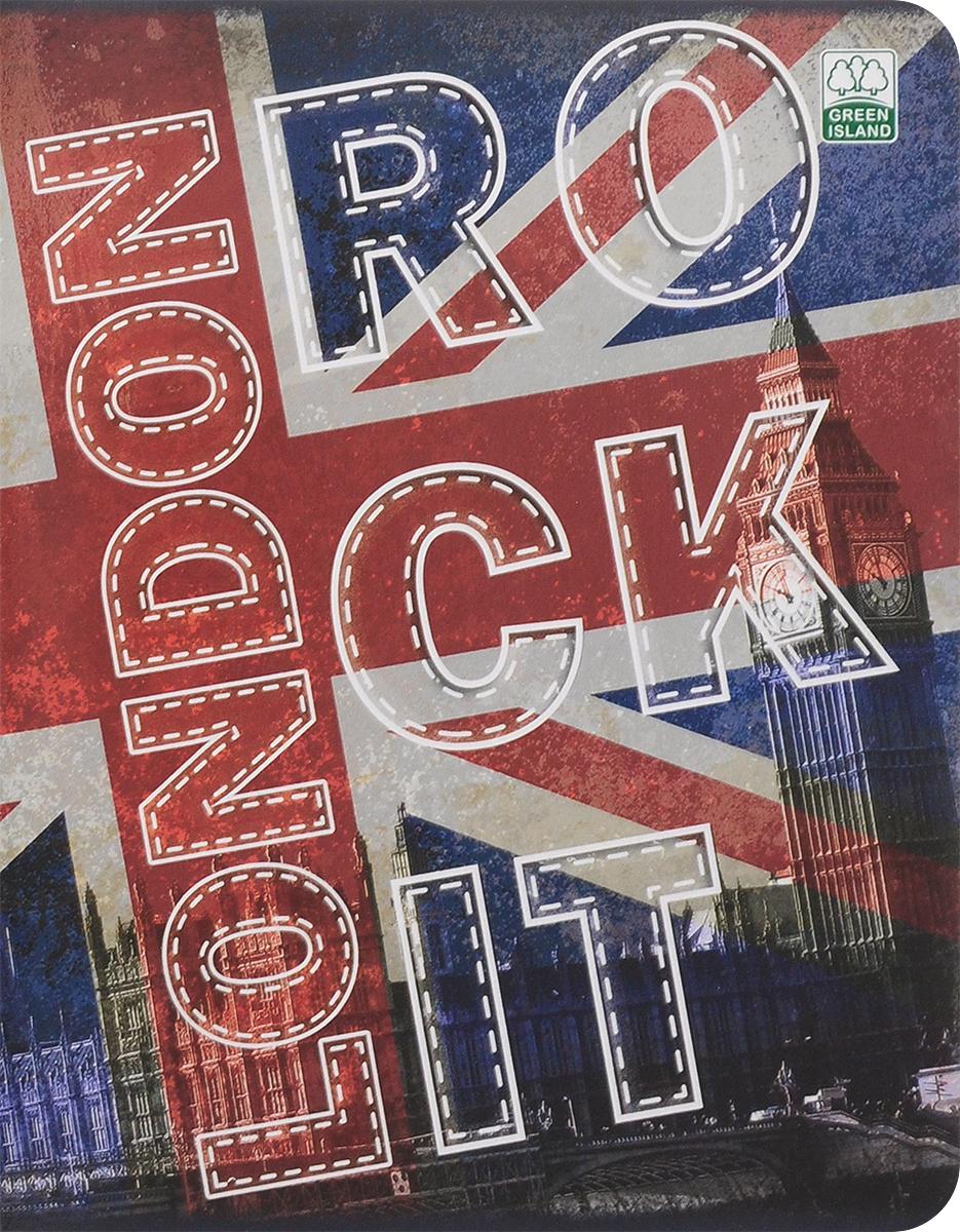 Green Island Тетрадь Города-флаги Лондон 80 листов в клетку river island ri004ewuap29