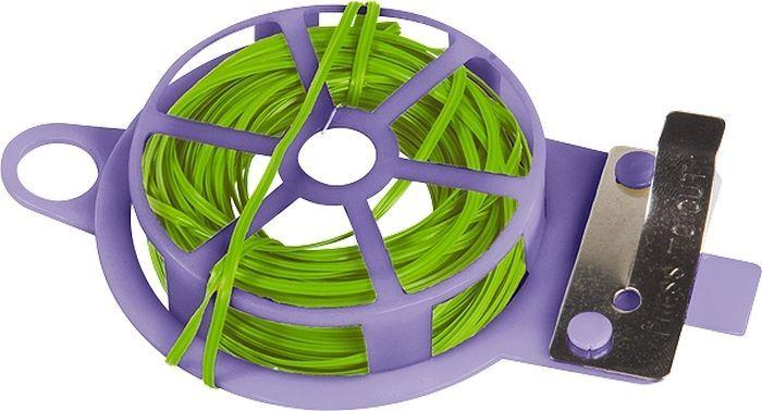 Подвязка для растений Palisad, длина 20 м64488Подвязка для растений Palisad представляет собой бобину из мягкой проволоки в ПВХ-изоляции, заключенную в обойму из прочного АБС-пластика. На обойме имеется встроенный нож для отреза проволоки. Проволока предназначена для подвязки высоких и гибких растений к специальным колышкам или связывания растений в пучок. Мягкость и гибкость позволяет бережно обращаться со стеблями, а также использовать проволоку многократно. Имеющаясяпетля позволяет подвешивать изделие на крючок, штырь, ветку для быстрого доступа. Также можно использовать в бытовых целях.