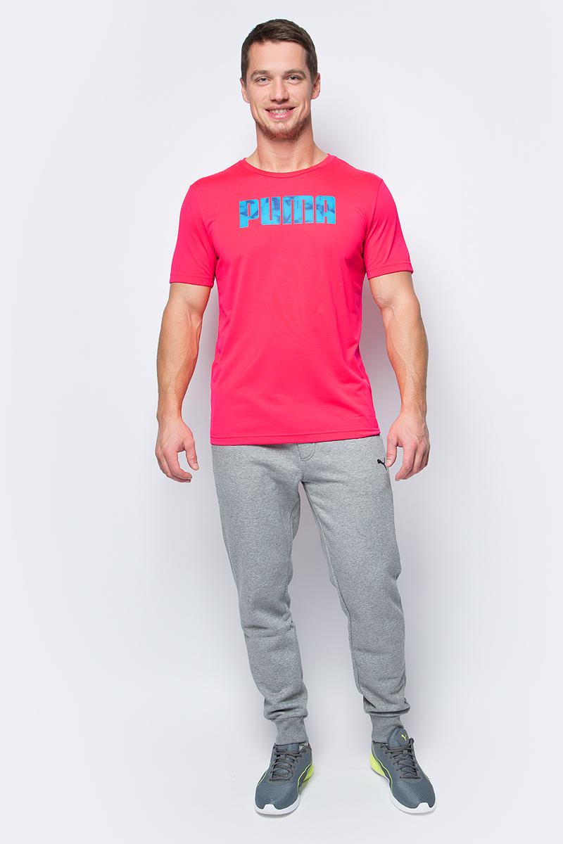 Футболка мужская Puma Future Tec Tee, цвет: малиновый. 83832339. Размер XL (50/52) uni tec жидкие кристаллы liquid crystal 50 мл