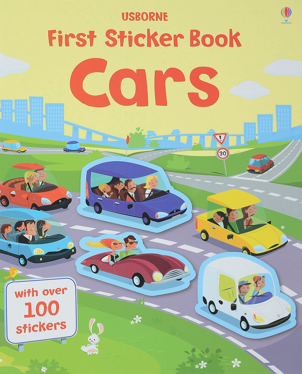First Sticker Book: Cars amazing adventures sticker book