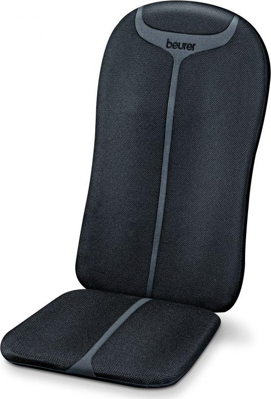 Beurer Массажер MG204 для тела2354Массажная накидка шиацу. Расслабляющий шиацу массаж спины. Прочный корпус. Поверхность из дышащей сетчатой ткани и неопрена. Подключаемая функция подогрева и подсветки. Особенности: Массажная накидка шиацу на сиденье. Возможность выбора массажной зоны (верхний или нижний отдел спины, вся спина). Легкое управление с помощью ручного выключателя. Автоотключение через 15 минут. Прочный корпус. Номинальная мощность 30 Вт. Технические характеристики: Рассеянный инфракрасный свет: 300 Вт Номинальная мощность: 30 Вт Автоматическое отключение: через 15 минут
