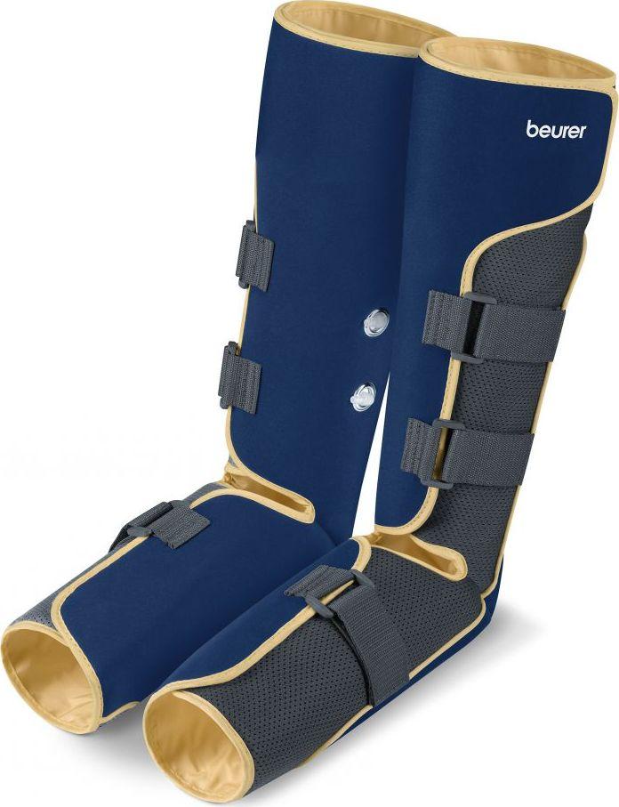 Beurer Тренажер для вен FM1503949Восстанавливающий компрессионный массажУлучшает циркуляцию крови в венах путем восстановления функции венУскоряет кровообращение, уменьшает тяжесть и усталость ногПредотвращает варикозное расширение вен и образование сосудистых сеточекСнимает мышечное напряжениеМассаж давлением воздуха с помощью надувающихся и сдувающихся воздушных подушекПлавное регулирование интенсивности массажаМанжеты на ногах попеременно накачиваются с разных сторонС предохранительной кнопкой STOPС функцией откачивания для быстрого опорожнения воздушных подушекВключая функцию установки таймера на 10/20/30 мин.Простое обслуживание с помощью ручного выключателяИндивидуальная регулировка ножной манжеты с помощью застежек-липучекСумка для хранения3 ВтВозможна работа от батареек или сети