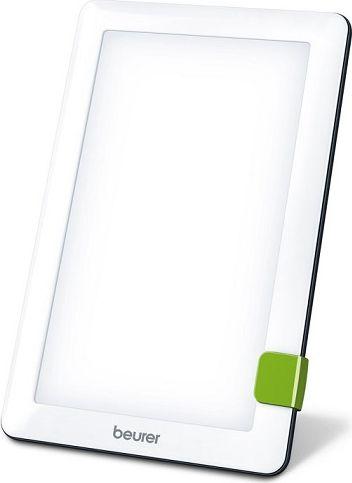 Beurer Прибор дневного света TL303977Для борьбы с недомоганиями, вызванными недостатком солнечного света в зимние месяцы, такими как неуравновешенность, подавленное настроение, повышенная утомляемость и вялость. Идеально для применения за письменным столом или в дороге. Компактность обеспечивается благодаря светодиодной технологии. Технические характеристики: Имитация солнечного света: сила света ок. 10 000 лк (на расстоянии 15–20 см) Освещаемая поверхность: ок. 20 x 12 см Без мерцания и ультрафиолетового излучения: да Универсальная подставка: да Можно установить в горизонтальном и вертикальном положении: да Удобное управление с помощью одной кнопки: да