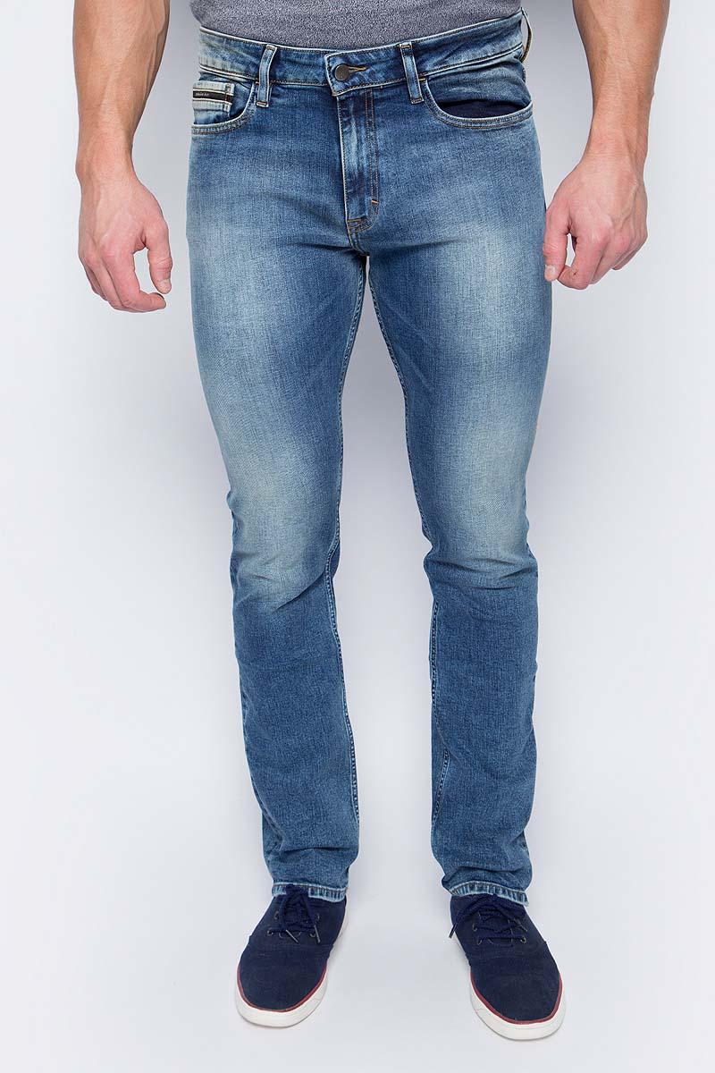 Купить Джинсы мужские Calvin Klein Jeans, цвет: синий. J30J306150_9164. Размер 32-34 (48/50-34)