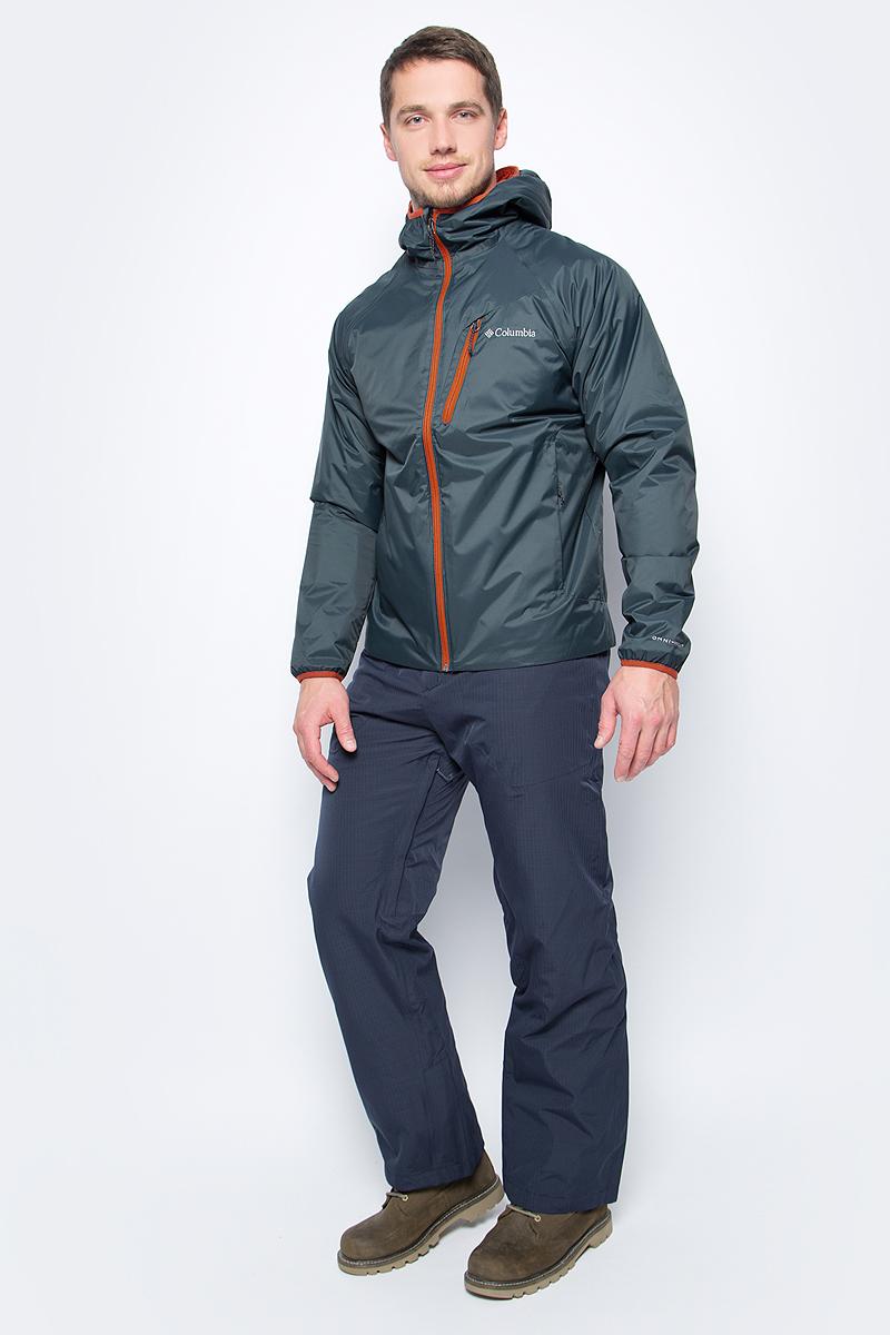 Куртка мужская Columbia Redrock Falls Jacket M, цвет: серый. 1621721-435. Размер XXL (56/58)