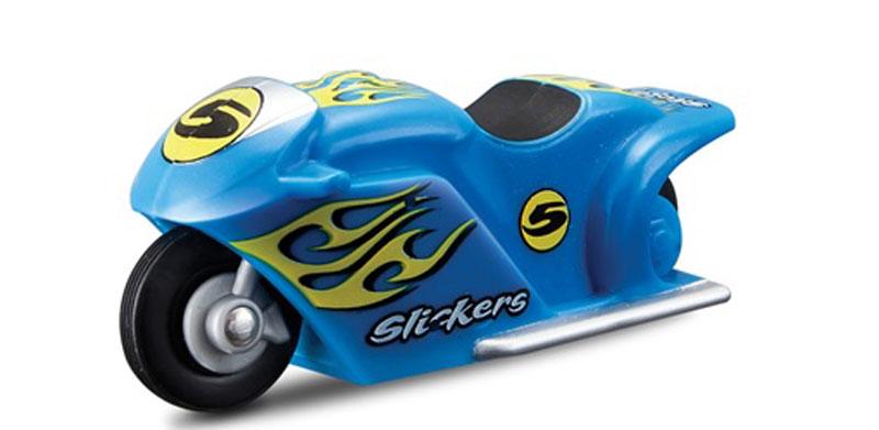 Maisto Мотоцикл инерционный Slickers игрушка maisto 1957 chevrolet bel air 81302