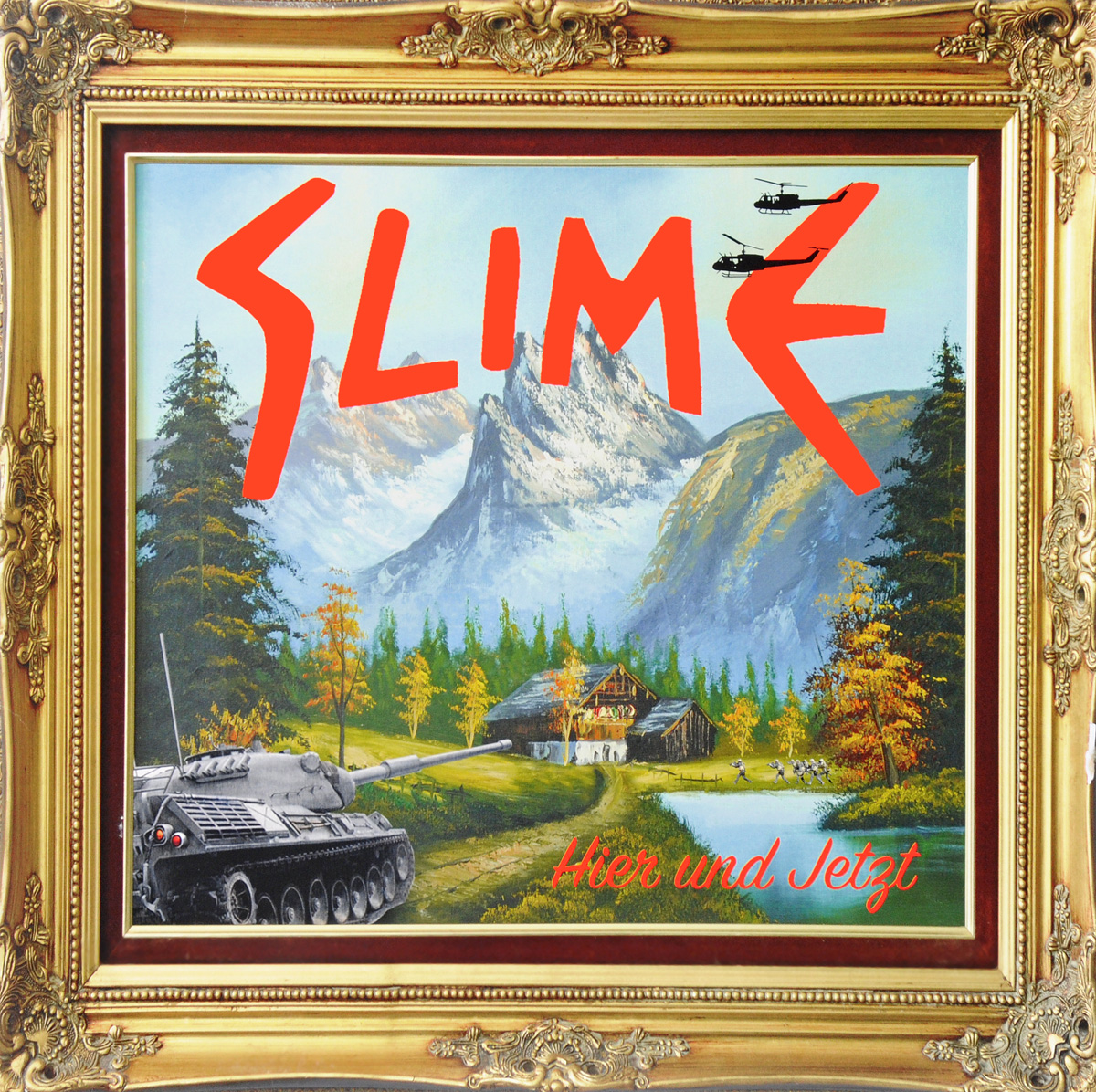 Slime Slime. Hier Und Jetzt (2 LP + CD) people like us exploring cultural values and attitudes 2 cd rom