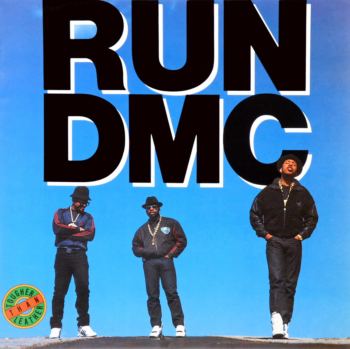 Run DMC Run Dmc. Tougher Than Leather (LP)