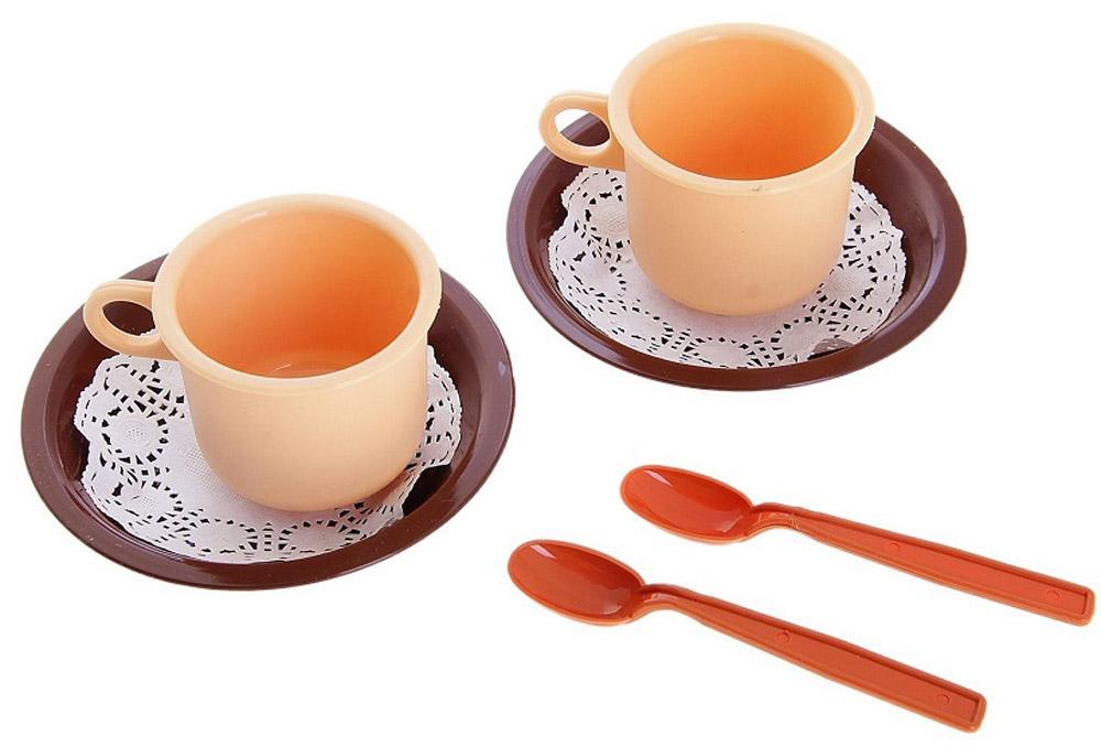 РосИгрушка Набор игрушечной посуды Чайная пара Милк РосИгрушка