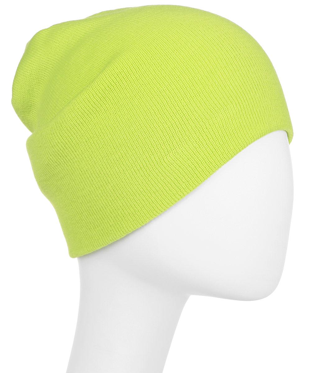 Шапка New Era Basic Long Knit, цвет: салатовый. 11328506-CYG. Размер универсальный11328506-CYGУдлинённая шапка с вышитым логотипом New Era. Тянущаяся ткань обеспечивает комфортную посадку.