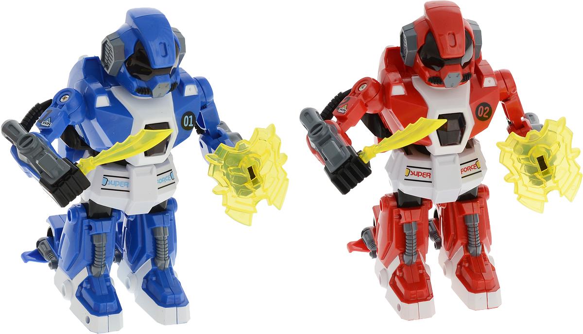 Yako Робот на радиоуправлении цвет синий красный 2 шт
