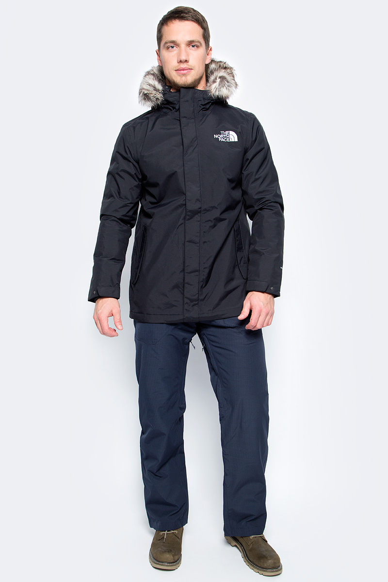 Куртка мужская The North Face M Sherpa Zaneck Jkt, цвет: черный. T937X3JK3. Размер L (48/50)T937X3JK3