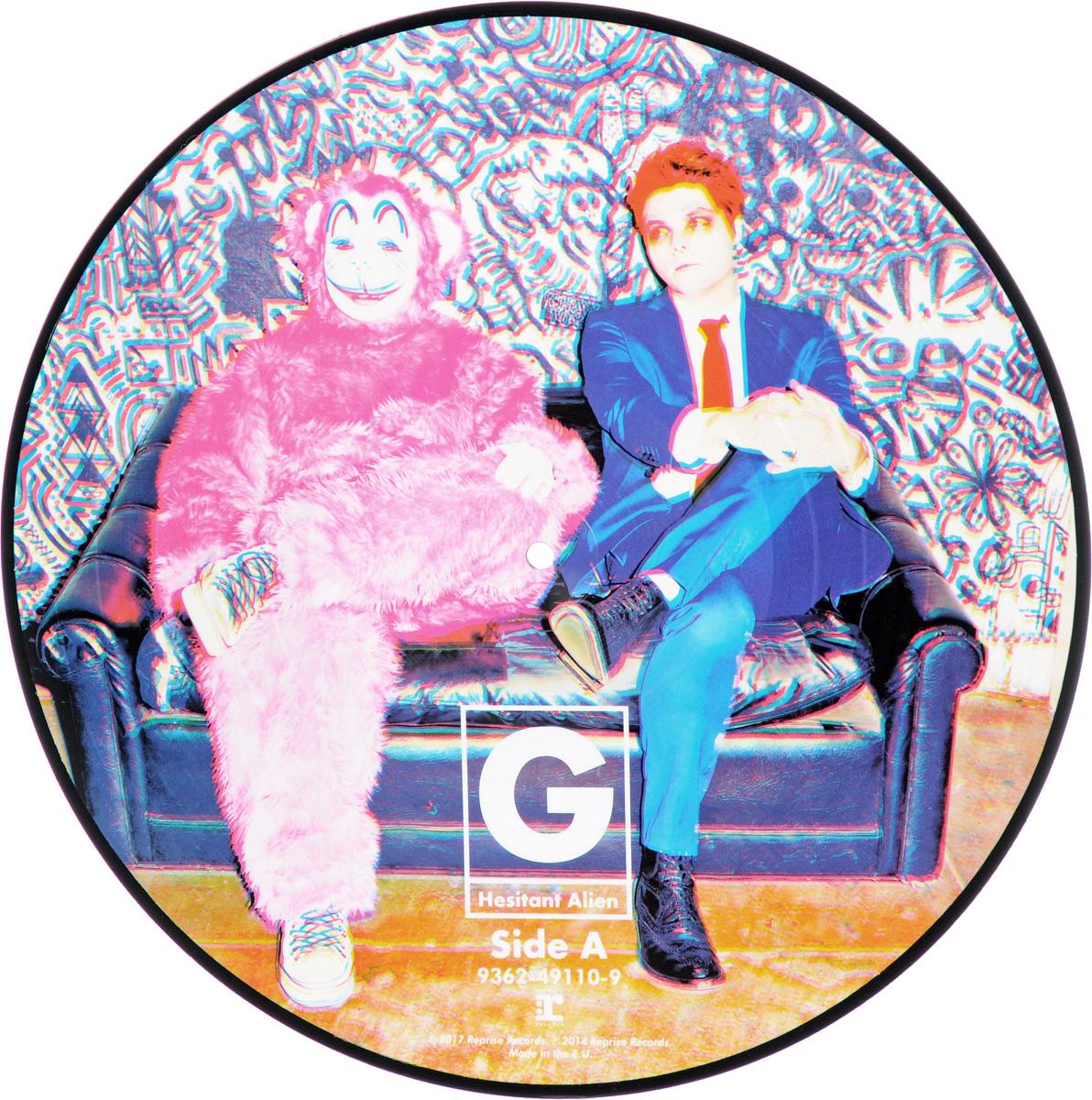 Джерард Уэй Gerard Way. Hesitant Alien. Picture Vinyl (LP) gerard way gerard way zero zero television all the time