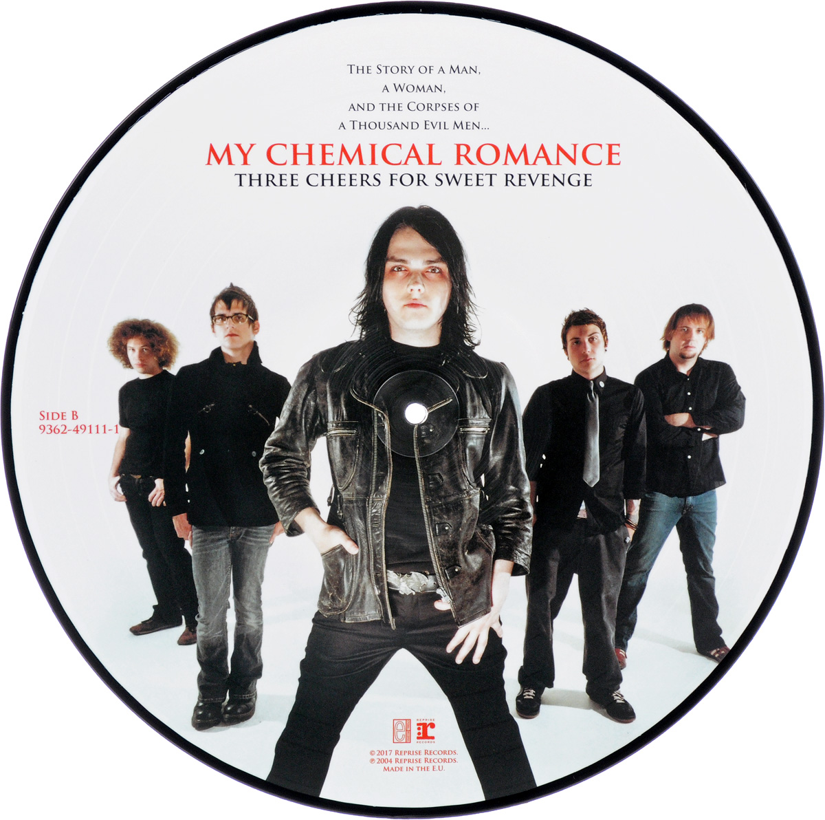 My Chemical Romance My Chemical Romance. Three Cheers For Revenge. Picture LP (LP) three cheers for women