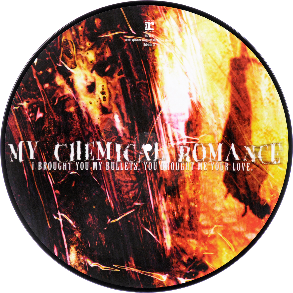 My Chemical Romance My Chemical Romance. I Brought You My Bullets. Picture LP (LP) my space mm5080004