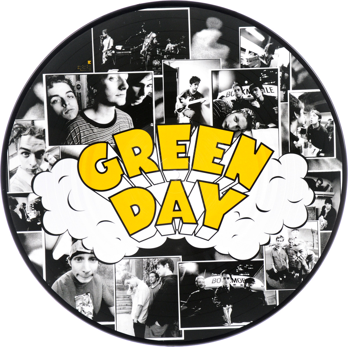 Green Day Green Day. Dookie. Picture Vinyl (LP) green day revolution radio lp