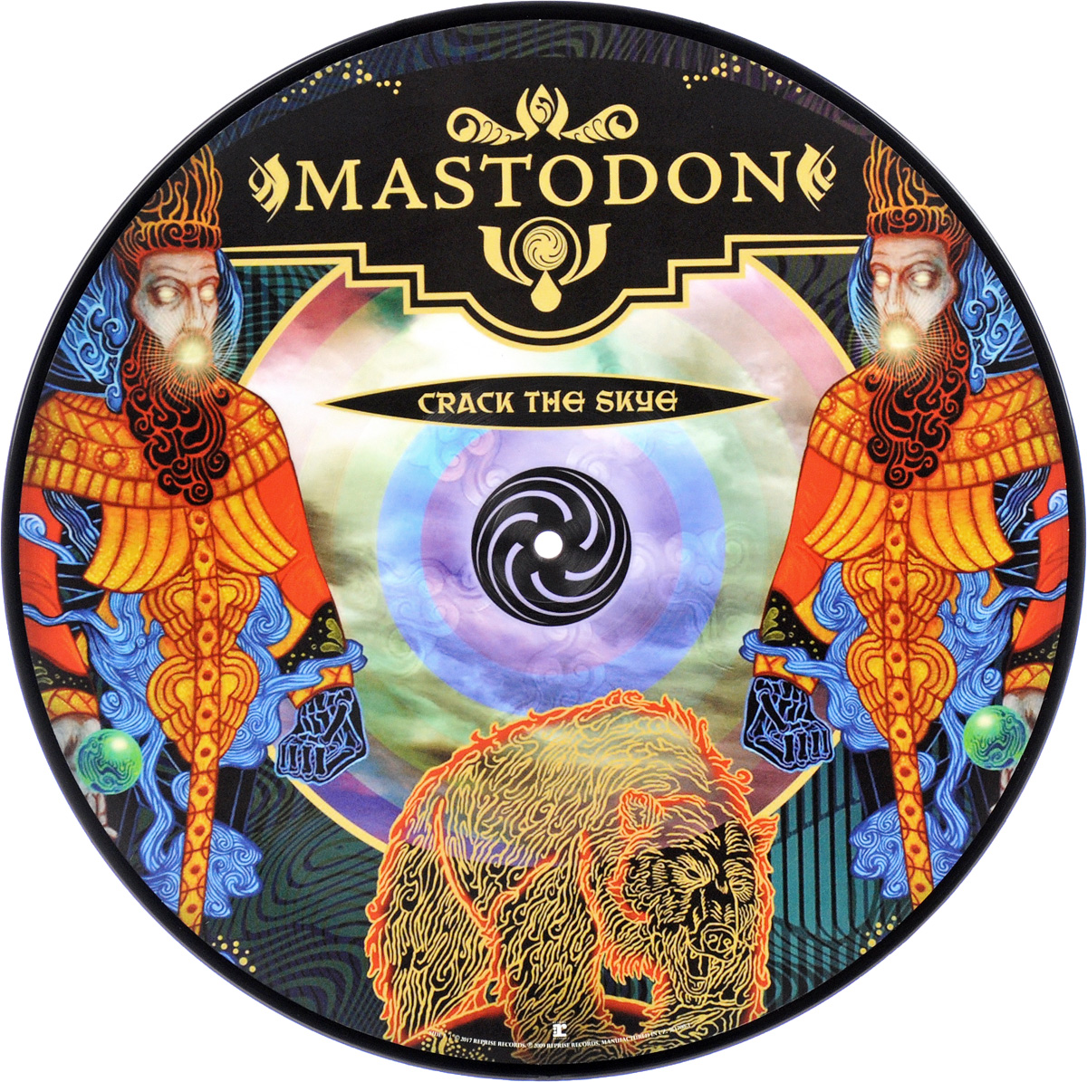 Mastodon Mastodon. Crack The Skye. Picture Vinyl (LP)