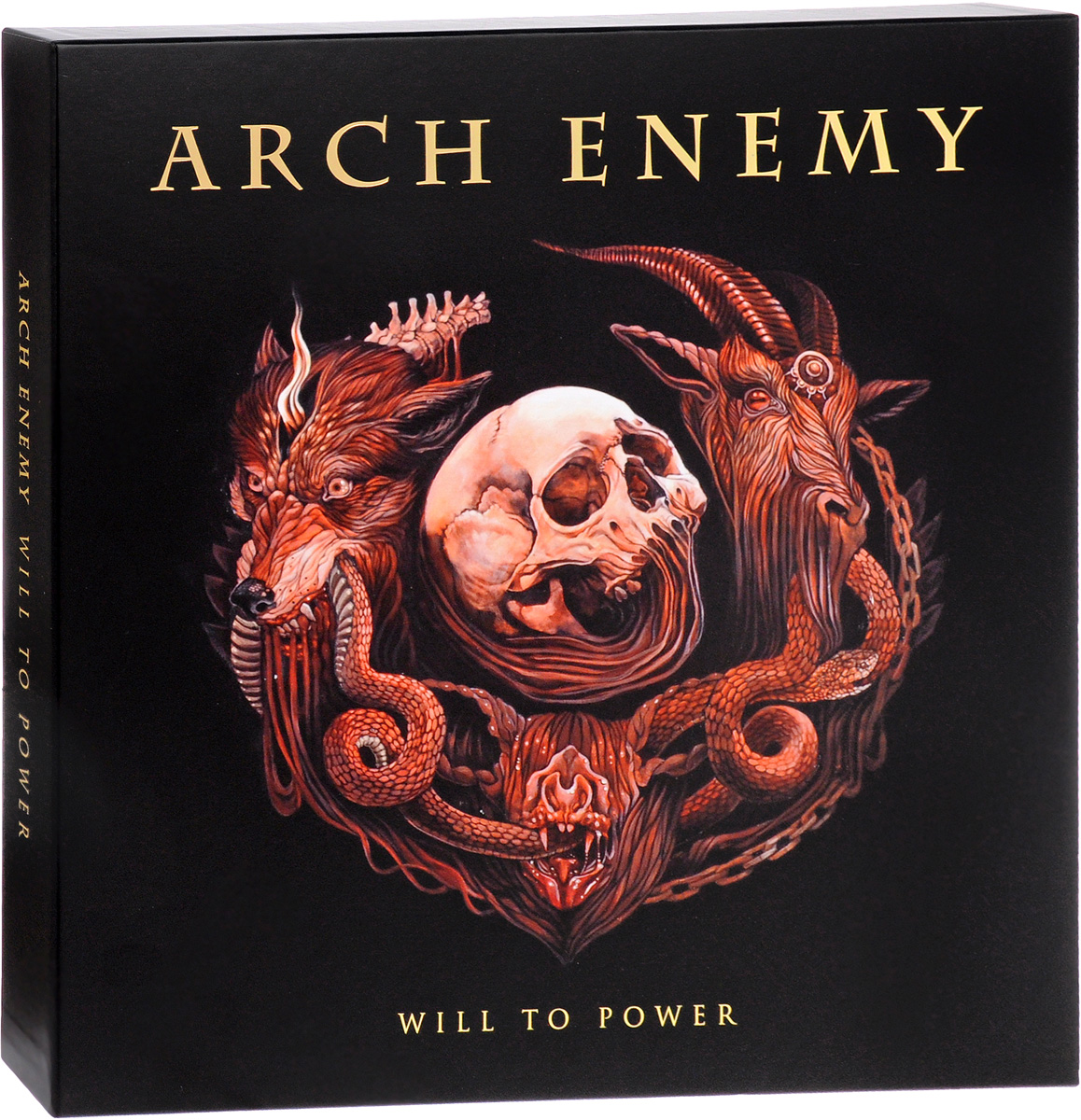 Фото - Arch Enemy Arch Enemy. Will To Power. Limited Deluxe Edition (LP + мини-LP + 2 CD) cd led zeppelin ii deluxe edition