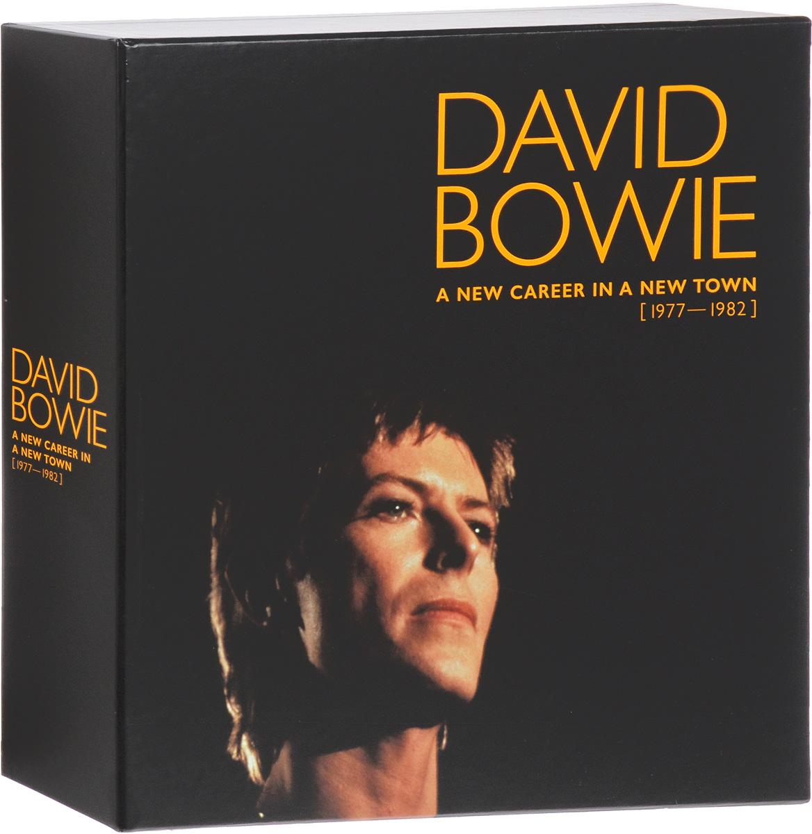 Дэвид Боуи,Брайан Ино,Карлос Аломар,Queen,Бинг Кросби David Bowie. A New Career In A New Town (1977-1982) (13 LP) eroc eroc eroc 1