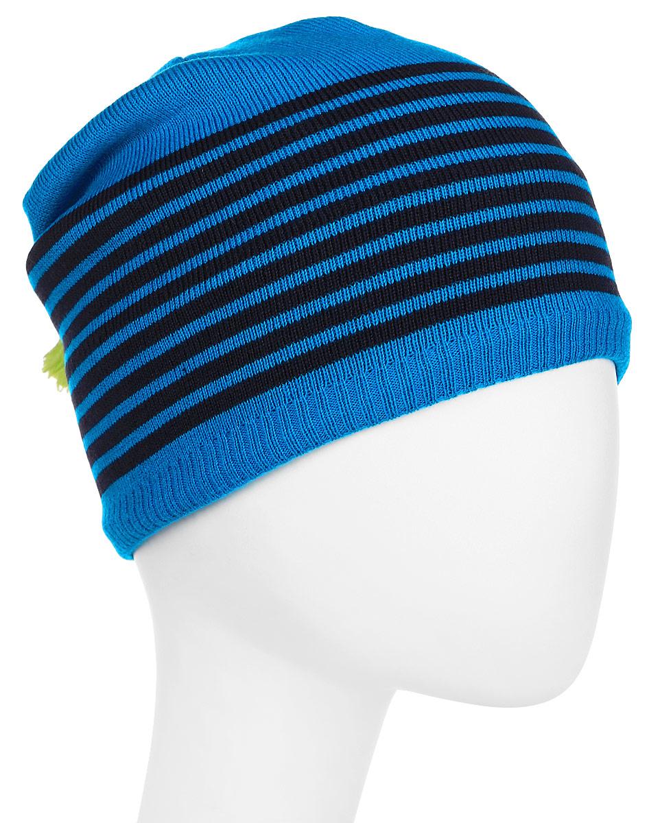 Шапка Salomon Escape Beanie, цвет: голубой. L39494100. Размер универсальныйL39494100Уютная и функциональная шапка Escape Beanie содержит 50% шерсти для дополнительного утепления. Вшитая лента, впитывающая пот, сохранит кожу в сухости даже при интенсивном движении. Благодаря современной форме и расцветке эта удобная шапка смотрится довольно забавно.