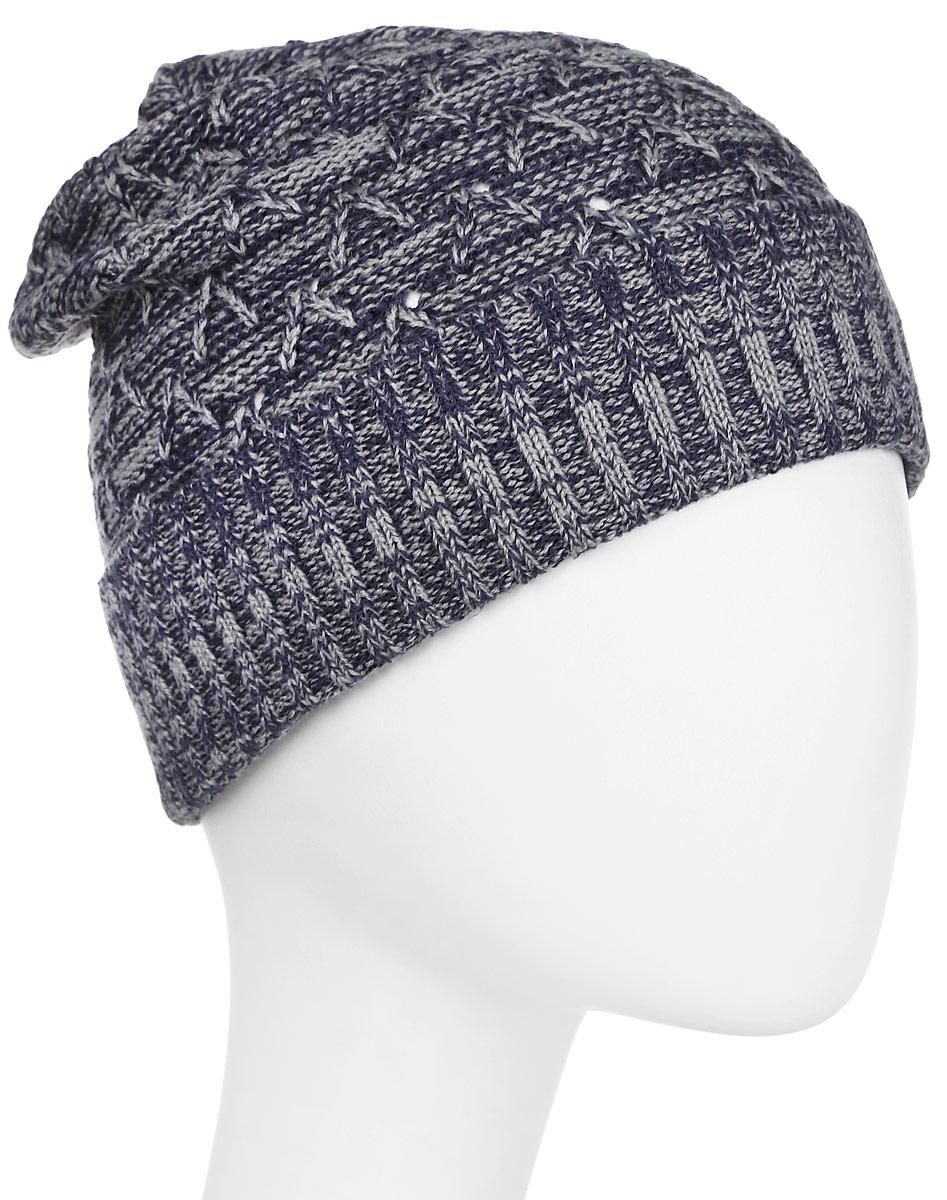 Шапка жен Columbia Marble Mountain Hat, цвет: темно-синий. 1758151-591. Размер универсальный1758151-591